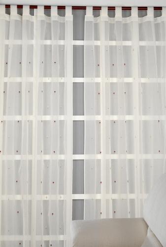 Corticentro celaya persianas y cortinas for Cortinas comedor rustico